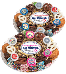 Bar/ Bat Mitzvah Popcorn & Cookie Assortment Platter