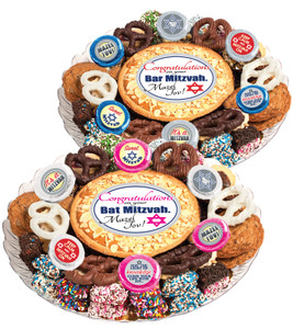BAR/ BAT MITZVAH COOKIE PIE & COOKIE ASSORTMENT PLATTER