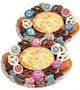 Bar/Bat Mitzvah Cookie Pie & Cookie Platter - No Label