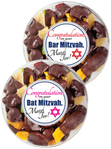Bar/ Bat Mitzvah Chocolate Dipped Dried Fruit