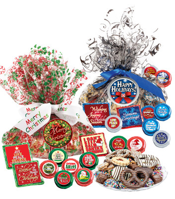 Christmas/Holiday Cookie Talk Message Platter