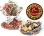 Christmas Butter Cookie Assortment wrapped platter
