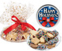 Holiday Butter Cookie Assortment wrapped platter