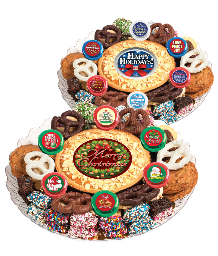 Christmas Holiday Cookie Pie Cookie Assortment Platter