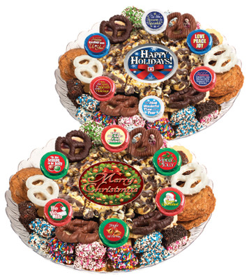 Christmas/Holiday Caramel Popcorn & Cookie Assortment