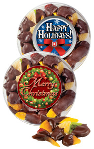 Christmas/Holiday  Chocolate Dipped Dried Fruit