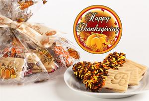 Thanksgiving JoeyJoy Raspberry Sandwich Butter Cookies