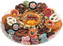Thanksgiving Caramel Popcorn & Cookie Platter
