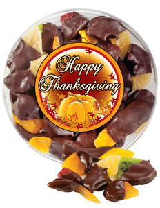 Thanksgiving Chocolate Dipped Dried Fruit Assortment