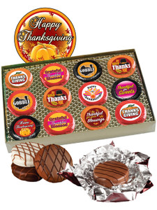 Thanksgiving Cookie Talk 12pc Chocolate Oreo Box