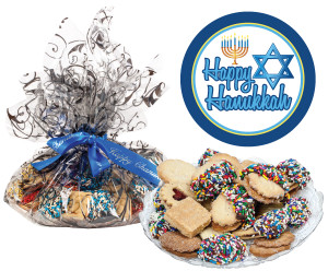 Hanukkah Butter Cookie Assortment Platter