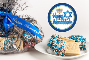 Hanukkah Joeyjoy Filled Sandwich Butter Cookies