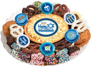 Hanukkah Cookie Pie & Cookie Assortment Platter