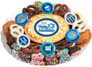 Hanukkah Cookie Pie & Cookie Platter