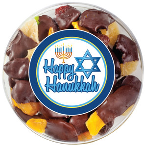 HANUKKAH CHOCOLATE DIPPED DRIED FRUIT