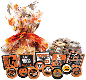 "Halloween  ""Cookie Talk"" Message Platters"