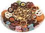 Halloween Caramel Popcorn & Cookie Platter - No Top Label