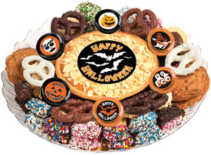 Halloween Cookie Pie & Cookie Platter