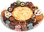 Halloween Cookie Pie & Cookie Platter - No Top Label