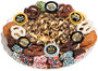 Happy New Year Caramel Popcorn & Cookie Platter - No Label