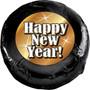 Happy New Year Chocolate Oreo