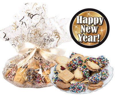Happy New Year Butter Cookie Assortment
