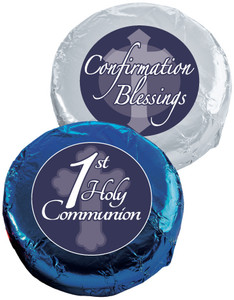 "Communion/ Confirmation - ""Cookie Talk"" Chocolate Oreo W/ Messages"