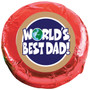 World's Best Dad Chocolate Oreo