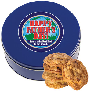 Father's Day Chocolate Chip Cookie Tin