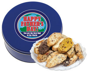 Father's Day Biscotti Tin