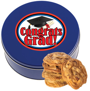GRADUATION CHOCOLATE CHIP COOKIE TIN