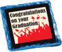 Congrats on your Graduation Cookie Talk Chocolate Graham