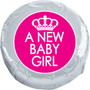 A New baby Girl Chocolate Oreo Foil