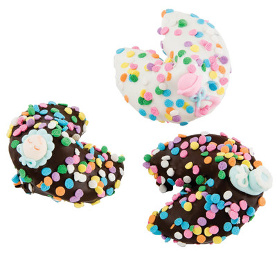 Baby Girl Chocolate Fortune Cookies- Special Order