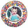 Baby Girl Custom Photo Printed Chocolate Oreo