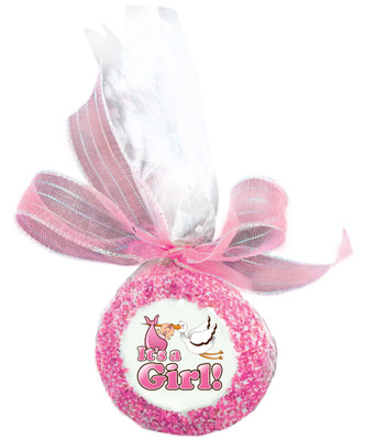 Baby Girl Custom Printed Chocolate Oreo
