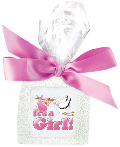 Baby Girl Custom Printed Chocolate Graham