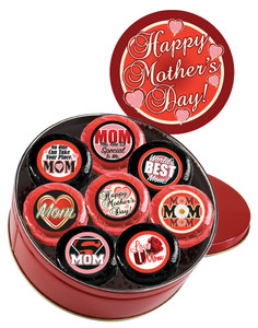 Mother's Day Cookie Talk 16pc Chocolate Oreo Tin
