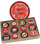 Mother's Day Cookie Talk 12pc Chocolate Oreo Box