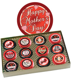 "Mothers Day ""Cookie Talk"" Chocolate Oreo  12 Pc. Box"