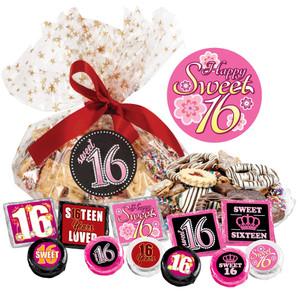 Sweet 16 Cookie Talk Message Platters