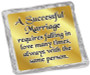 Wedding Cookie Talk Chocolate Graham - Successful Marriage