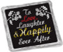 Wedding Cookie Talk Chocolate Graham - Happily Ever After