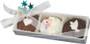 Wedding Decorated Chocolate Oreo - 3pc box