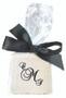 Custom Printed Chocolate Half Graham Bag - Black