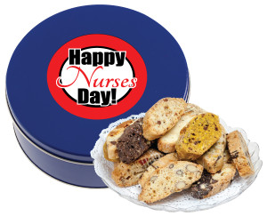 Nurse Appreciation Biscotti Cookie Tin