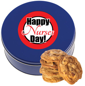 Nurse Appreciation 1lb Chocolate Chip Cookie Tin