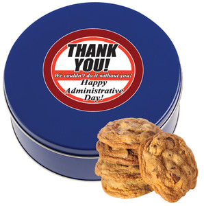 ADMIN/ OFFICE STAFF CHOCOLATE CHIP COOKIE TIN