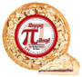 Pi Day Cookie Pie with Slice