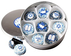 Bar/ Bat Mitzvah Decorated Chocolate Oreo Tin